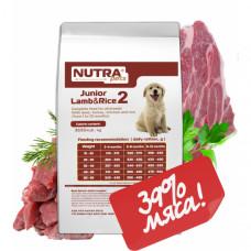 NUTRA pets Regular Junior Lamb & Rice сухий корм для цуценят з ягням 10 кг + Подарунок!