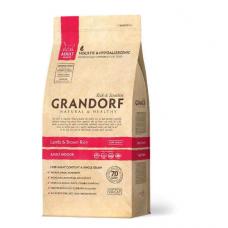 Grandorf Lamb & Rice ADULT INDOOR низкозерновой сухой корм для кошек живущих в помещении ягненок рис 2 кг