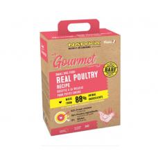 Natyka Gourmet Adult Small Dogs полувлажный корм для взрослых собак малых пород с домашней птицей 3 кг