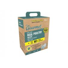 Natyka Gourmet Puppy полувлажный корм для щенков всех пород с домашней птицей 3 кг