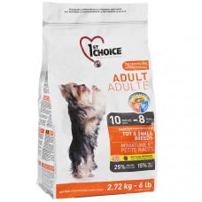 1st Choice Toy & Small Adult Chicken ФЕСТ ЧОЙС сухий корм для дорослих собак міні і малих порід, 2.72 кг.