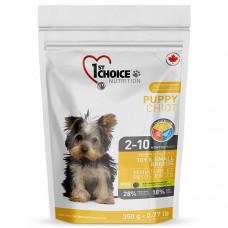 1st Choice Toy & Small Puppy Chicken ФЕСТ ЧОЙС сухий корм для цуценят міні та малих порід з куркою, 0,35 кг.