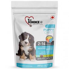 1st Choice Medium&Large Puppy Chicken сухой корм для щенков средних и крупных пород с курицей 0,35 кг.