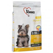 1st Choice Toy & Small Puppy Chicken ФЕСТ ЧОЙС сухий корм для цуценят міні та малих порід з куркою, 7 кг.