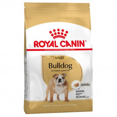 Royal Canin bulldog Adult корм для собак от 12 месяцев 12 кг.