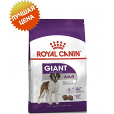 Royal Canin giant Adult корм для собак старше 18/24 мес 15 кг.