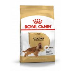 Royal Canin cocker (кокер-спаниель) Adult корм для собак от 12 месяцев 3 кг.