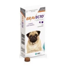 Bravecto БРАВЕКТО таблетка от блох и клещей для собак и щенков 4,5-10 кг, 250 мг
