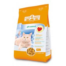 Клуб 4 Лапы сухой корм для поддержания здоровья мочеиспускательной системы у взрослых котов 0,9 кг
