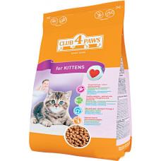 Клуб 4 Лапы сухой корм для котят с курицей 0,3 кг