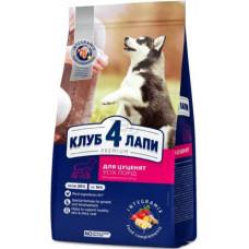 Клуб 4 Лапы сухой корм для щенков 0,4 кг