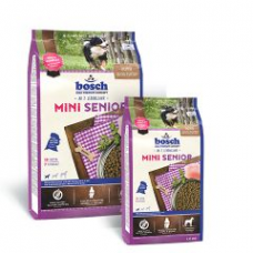 Bosch Mini Seniorкорм для пожилых собак маленьких пород с мясом домашней птицы 1 кг