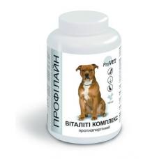 Витаминно-минеральная добавка для собак ProVET Профилайн Виталити комплекс 100 табл, 123 г (противоаллергический)