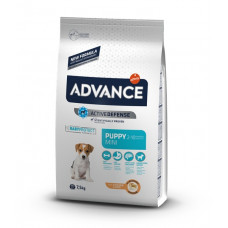 Advance Dog Mini Puppy сухой корм для щенков маленьких пород с курицей 7,5 кг