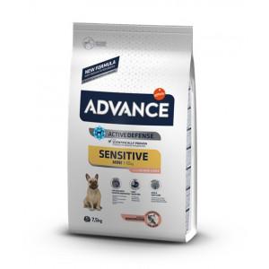 Advace Sensitive сухой корм для взрослых собак малых пород с чувствительным пищеварением 7,5 кг