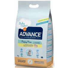 Advance  puppy сухой корм для щенков крупных пород с курицей и рисом 18 кг
