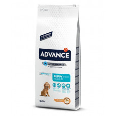 Advance Dog Medium Puppy сухой корм для щенков средних пород с курицей и рисом 18 кг