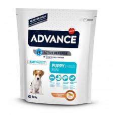 Advance Dog Mini Puppy сухий корм для цуценят маленьких порід з куркою 0,8 кг