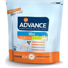 Advance Dog Mini Adult сухой корм для взрослых собак малых пород с курицей 0,8 кг