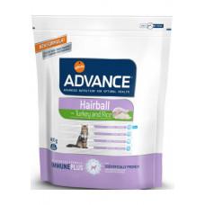 Advance Cat Hairball сухой корм для котов с эффектом выведения шерсти 0,4 кг