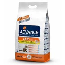Advance Cat Chicken & Rice сухой корм с курицей и рисом для взрослых котов и кошек 3 кг