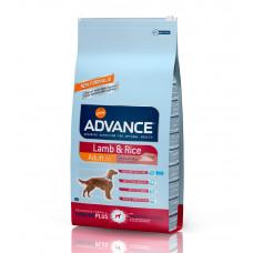 Advance Dog Sensitive Lamb&Rice сухой корм для взрослых собак средних и крупных пород с ягненком и рисом 12 кг