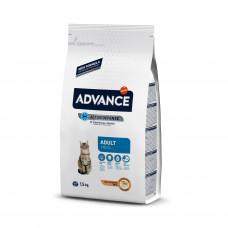 Advance Cat Chicken & Rice сухой корм с курицей и рисом для взрослых котов и кошек 1,5 кг