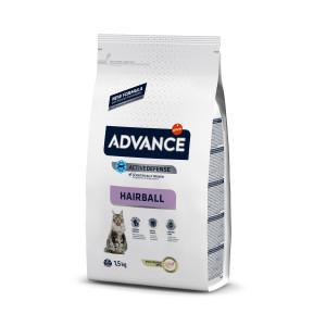 Advance Cat Hairball сухой корм для котов с эффектом выведения шерсти 1,5