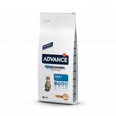 Advance Cat Chicken & Rice сухой корм с курицей и рисом для взрослых котов и кошек 15 кг