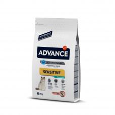 Advance Cat Sterilized Salmon Sensitive для стерилизованных котов с чувствительным пищеварением 3 кг
