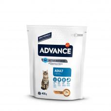 Advance Cat Chicken & Rice сухой корм с курицей и рисом для взрослых котов и кошек 0,4 кг