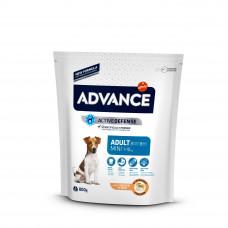 Advance Dog Mini Adult сухий корм для дорослих собак малих порід з куркою 0,8 кг