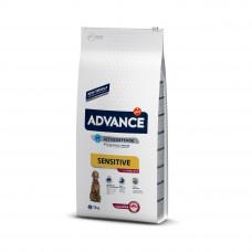 Advance Dog Med/Maxi Sensitive Lamb&Rice сухой корм для собак средних и крупных пород с ягненком и рисом 12 кг