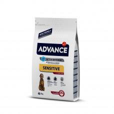 Advance Dog Med/Maxi Sensitive Lamb&Rice сухой корм для собак средних и крупных пород с ягненком и рисом 3 кг