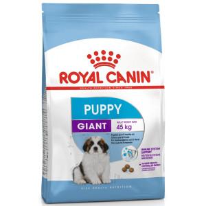 Royal Canin giant puppy корм для цуценят великих порід з 2х до 8 міс 15 кг.