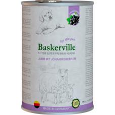 Baskerville Super Premium Lamm Mit Johannisbeeren. Ягня та смородина для цуценят, 400g