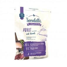 Bosch Sanabelle Adult Ostrich корм для домашних кошек с мясом страуса 0,4 кг