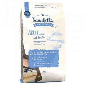 Bosch Sanabelle Adult whith Trouth корм для домашніх котів з фореллю 2 кг