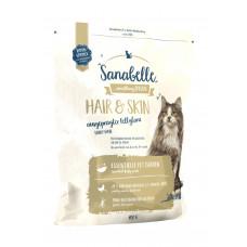 Bosch Sanabelle Hair & Skin для взрослых кошек поддерживает здоровье кожи и шерсти 0,4 кг