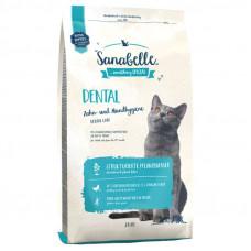 Bosch Sanabelle Dental корм для взрослых кошек поддерживает гигиену ротовой полости 2 кг