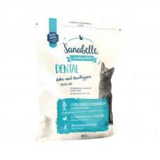 Bosch Sanabelle Dental корм для взрослых кошек поддерживает гигиену ротовой полости 0,4 кг