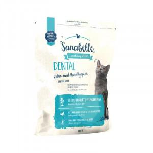 Bosch Sanabelle Dental корм для дорослих котів підтримує гігієну ротової порожнини 0,4 кг