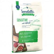 Bosch Sanabelle Sensitive with Poultry диетический корм для кошек с чувствительным пищеварением с птицей 10 кг
