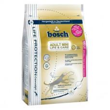 Bosch Mini Life + Care корм для собак чувствительных к пище взрослых собак мелких пород с мясом птицы 3,75 кг