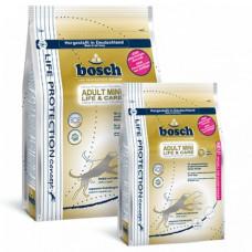 Bosch Mini Life + Care корм для собак чувствительных к пище взрослых собак мелких пород с мясом птицы 0,95 кг