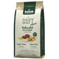 Bosch Soft Mini полувлажный корм для взрослых собак с косулей и картофелем 1 кг