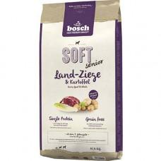 Bosch Soft Senior корм для пожилых собак с козлятиной и картофелем12,5 кг