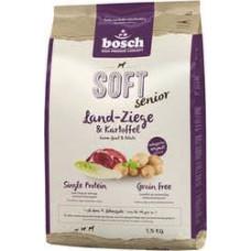 Bosch Soft Senior корм для пожилых собак с козлятиной и картофелем2,5 кг
