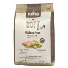 Bosch Soft Adult полувлажный корм для взрослых собак с курицей и бананом 2,5 кг