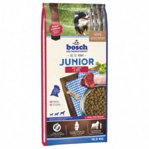 Bosch Junior корм для щенков с ягненком и рисом 15 кг